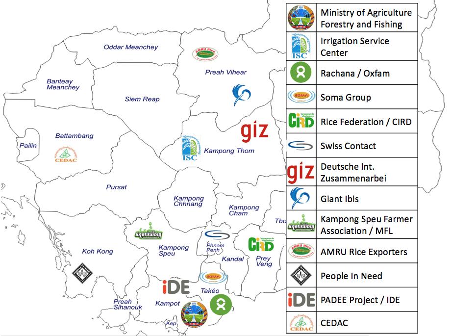 Seeder Partner Map
