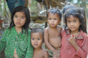 Young Cambodia girls