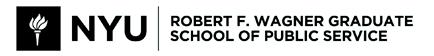 New York University Wagner Graduate School of Public Service