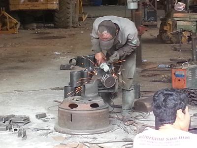 Manufacturing the Rudi Khmer Pump